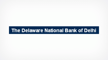 The Delaware National Bank of Delhi logo