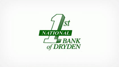 The First National Bank of Dryden logo