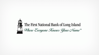 The First National Bank of Long Island Logo