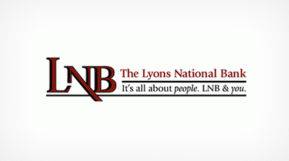 The Lyons National Bank logo