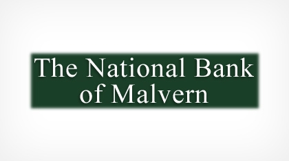 The National Bank of Malvern Logo