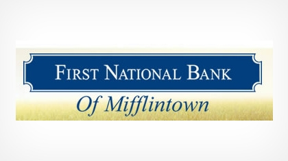 The First National Bank of Mifflintown logo