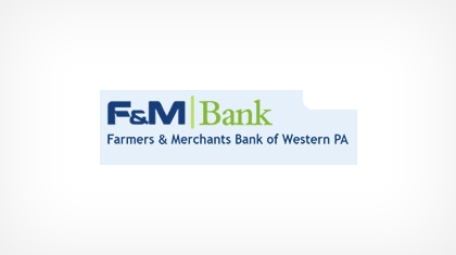 Farmers and  Merchants Bank of Western Pennsylvania, National Association logo