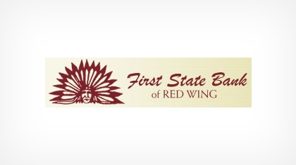The First State Bank of Red Wing Logo