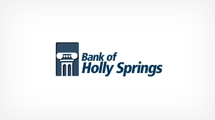 The Bank of Holly Springs logo