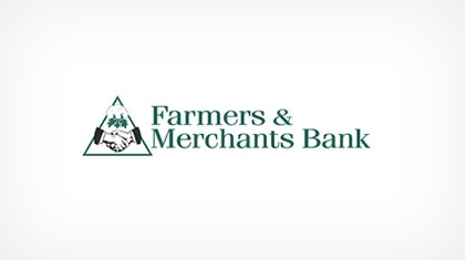 Farmer's and Merchants Bank logo