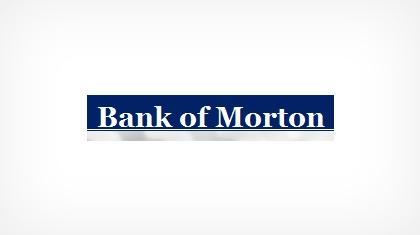 Bank of Morton logo