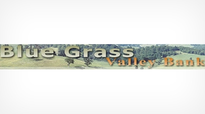 The Blue Grass Valley Bank logo