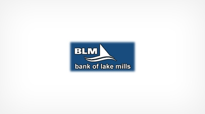 Bank of Lake Mills logo