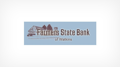 Farmers State Bank of Watkins Logo