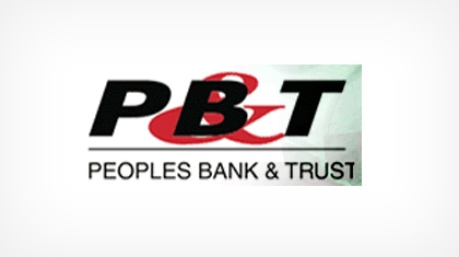 Peoples Bank & Trust Co. logo
