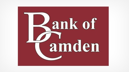 Bank of Camden logo