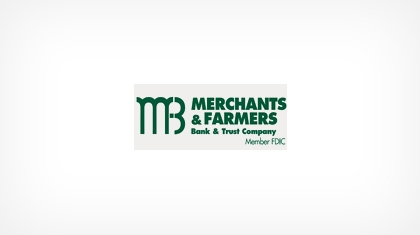 Merchants & Farmers Bank & Trust Company logo