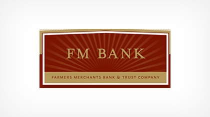 Farmers-merchants Bank & Trust Company Logo