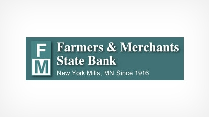 Farmers & Merchants State Bank of New York Mills, Incorporated Logo