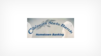 Citizens State Bank of Lankin logo