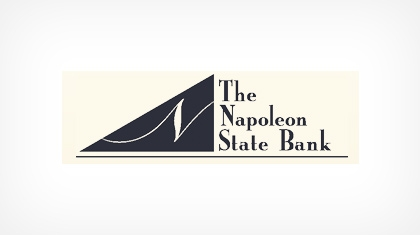 The Napoleon State Bank logo