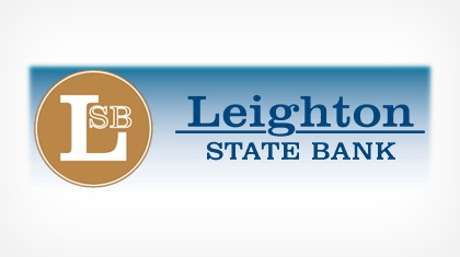 Leighton State Bank logo
