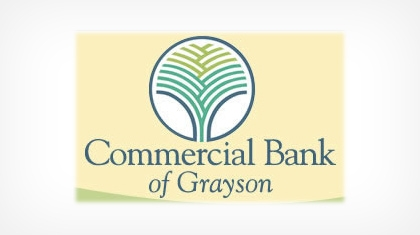 The Commercial Bank of Grayson logo