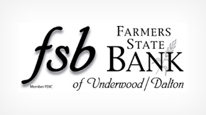 Farmers State Bank of Underwood logo
