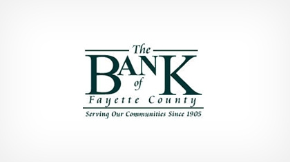 The Bank of Fayette County logo