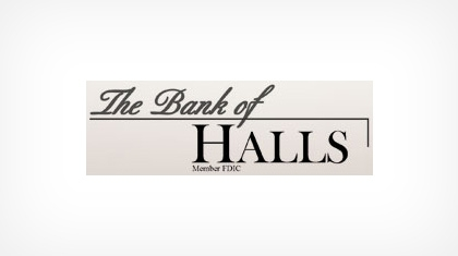 Bank of Halls Logo