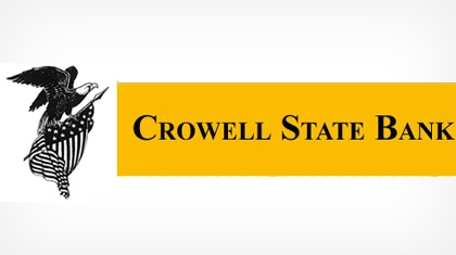 Crowell State Bank logo