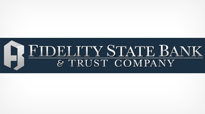 The Fidelity State Bank and Trust Company logo