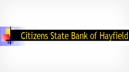 Citizens State Bank of Hayfield logo