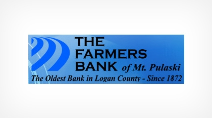 The Farmers Bank of Mt. Pulaski logo