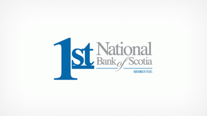 First National Bank of Scotia Logo