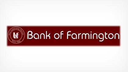 Bank of Farmington logo