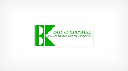 Bank of Kampsville logo