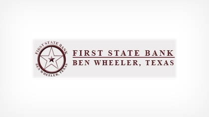 First State Bank of Ben Wheeler, Texas logo