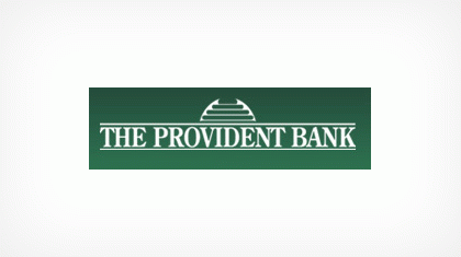 The Provident Bank logo