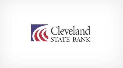 The Cleveland State Bank logo