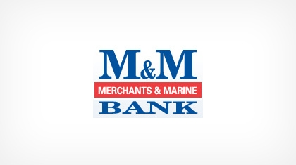 Merchants & Marine Bank Logo