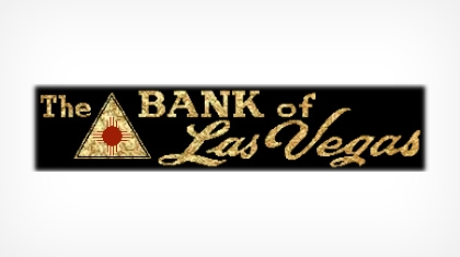 The Bank of Las Vegas logo