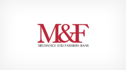 Mechanics & Farmers Bank Logo