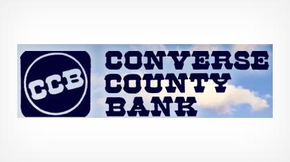 The Converse County Bank logo