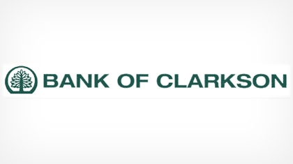 Bank of Clarkson Logo