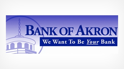 Bank of Akron logo