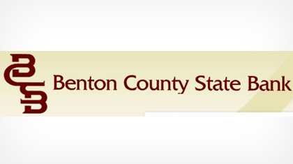 Benton County State Bank logo