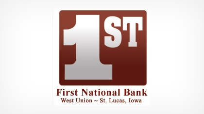 The First National Bank of West Union Logo
