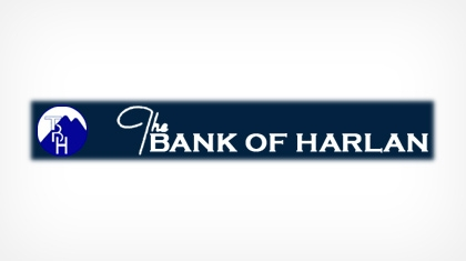 The Bank of Harlan logo