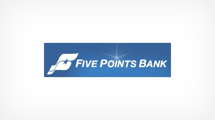 Five Points Bank of Hastings Logo