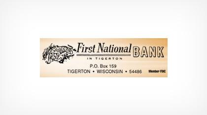 First National Bank In Tigerton logo