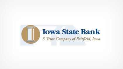 Iowa State Bank and Trust Company of Fairfield, Iowa logo
