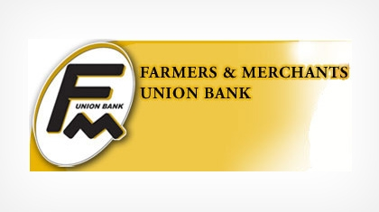 Farmers and Merchants Union Bank logo