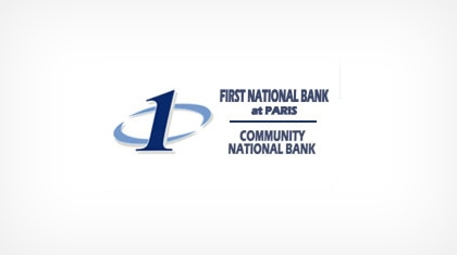 The First National Bank At Paris logo